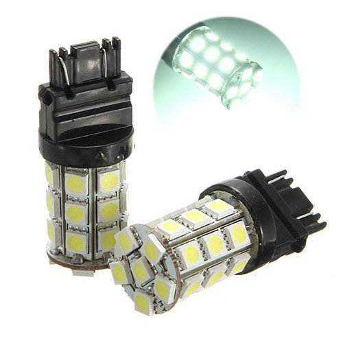 2x T25 W21/5W 3157 7443 Blanc XENON 5050 SMD 27 LED AMPOULE Lampe 12V VOITURE lumiere