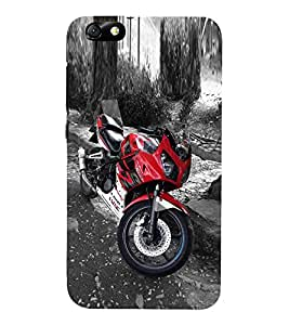 Fuson Designer Back Case Cover for Huawei Honor 4X :: Huawei Glory Play 4X ( Bike Car Auto Scooter Automobiles )