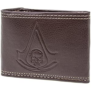 Ubisoft Assassins Creed Black Flag Braun Portemonnaie Geldbörse