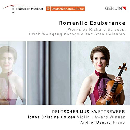 Ioana Cristina Goicea: Deutscher Musikwettbewerb Award Winner Violine