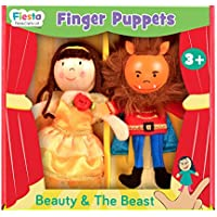 Fiesta Crafts–t-2876Belleza y la Bestia Juego de Marionetas de Dedo