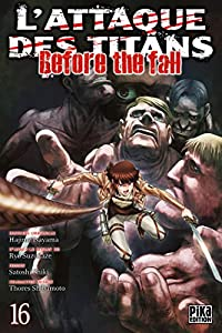 L'Attaque des Titans - Before the Fall Edition simple Tome 16