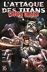 L'Attaque des Titans - Before the Fall, tome 16 par Suzukaze