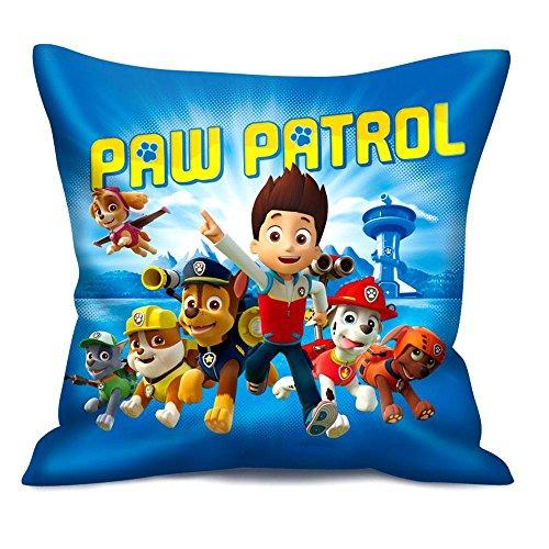 Paw Patrol - Kissen Kinder Dekokissen Kuschelkissen Ready Action 35 x 35 cm