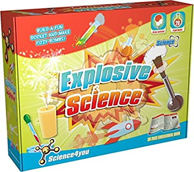 Science4you  Explosive Science Kit  Educational Toy  STEM Toy by Science4you