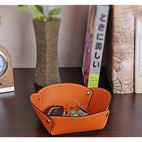 POPE caja de almacenamiento de la cabecera del escritorio mesa de café de la vendimia caja de madera de estilo europeo dormitorio caja de almacenamiento ( Color : 12#