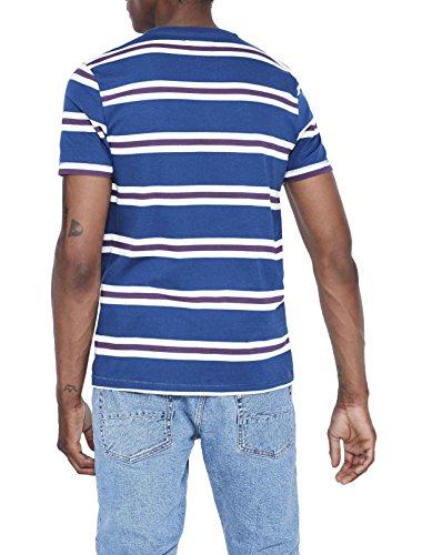 Celio Herren T-Shirt Jebritain Blau (Navy)
