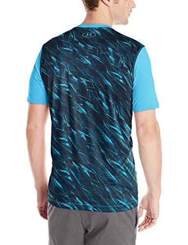 Under Armour Fitness Raid Short Sleeve Tee Herren Fitness - T-Shirts & Tanks Hellblau (Meridian Blue)
