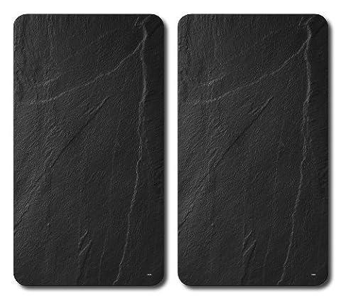 Planches à Découper en Verre Multicolore pour les Plaques Chauffantes - 52 x 30 x 0,9 cm