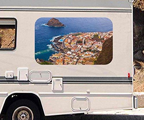 3d-autoaufkleber-meer-teneriffa-spanien-wasser-wohnmobil-auto-kfz-fenster-motorhaube-sticker-aufkleb