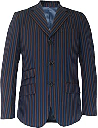 Warrior Mens Striped Classic MOD Boating Blazers/Jackets