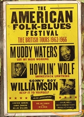 The American Folk-Blues Festival-The British Tour [UK Import] - American Musik-dvd Folk