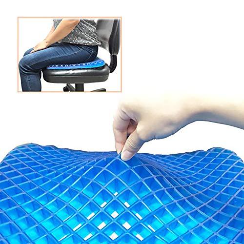 Urbo Asiento ergonómico con apoyo equilibrado para el descanso y alivio a largo plazo del dolor en la cola, ciática, malestar sudoroso, para oficinas y hogares