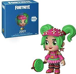 Funko- 5 Star: Fortnite: Zoey Figura de Vinilo, (34679)