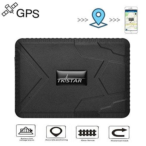 TKSTAR GPS Tracker, AUTO LKW Fahrzeug GPS Tracker 120 Tage langes Standby GPS Ortung, Wasserdichter Realzeit tracking GPS Locator Professional Anti-Diebstahl Anti-verloren GPS Alarm Verfolger starker Magnet nein installieren mit APP