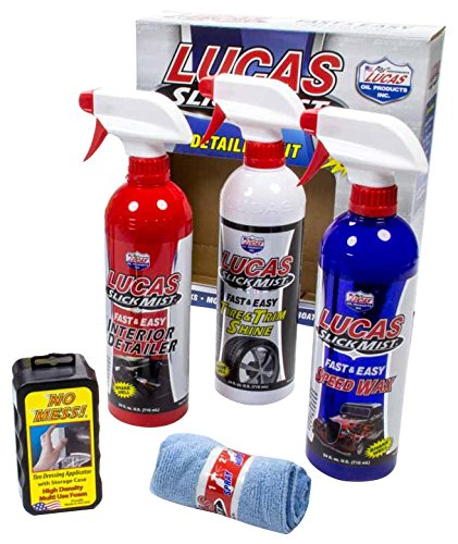 Lucas Oil 10558-4PK Detailing Kit Case (Slick Mist, 4 Kits), 1 Pack -