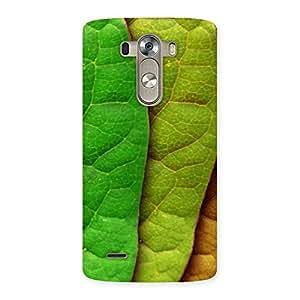 Cool Leaf Pattern Back Case Cover for LG G3