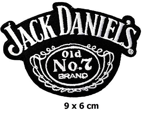 Jack Daniel 's No. 7Brand Getränke Patch Eisen auf Logo Weste Jacke Gap Hoodie Rucksack Patch Aufbügeln/SEW -