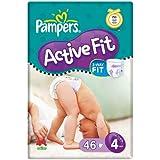 Pampers Active Fit Taille 4(7–18kg)–Pack économique 6x 46par paquet
