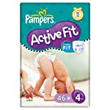 Pampers Active Fit Größe 4 (7-18kg) Economy Pack 6 x 46 pro Packung