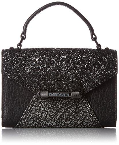 Diesel Damen Tasche Umhängetasche INDUSTRIAL PHOLDERR - p, Farbe: Schwarz, Größe: One Size (Für Frauen Diesel)