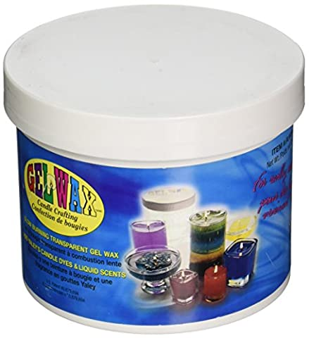 Yaley 23-Ounce Gel Candle Crafting Wax, Clear