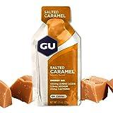 GU Energy Gel Salted Caramel, 20mg Caffeina, box da 24 gel da 32g