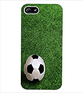ColourCraft Football Design Back Case Cover for APPLE IPHONE 5S