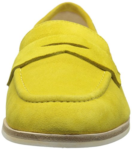 Nine West Antonecia Suede Slip-on Mocassins Yellow Suede