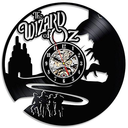 Der Zauberer von Oz Vinyl Wanduhr Schlafzimmer-Wand-Dekor-Geschenk