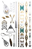 Schmuck-Tattoos >LOVE< Flash Tatoo Beauty Fashion Set zum Aufkleben