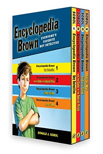 [Encyclopedia Brown Box Set (4 Books)] [By: DonaldJ.Sobol] [October, 2007]