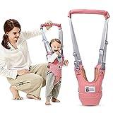 Kidsidol Cablaggio Del Baby Walker Redini Primi Passi Cintura Pi Sicurezza Per Camminare Con l'Aiuto Del Deambulatore Adatto per neonati da 8-24 mesi (rosa)