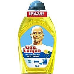 Don Limpio Limón Fresco Limpiador Multiusos Concentrado - 600 ml