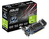 Asus GeForce GT 610 Silent Nvidia Graphics Card (2GB DDR3, PCI Express 2.0, HDMI, DVI-I, VGA, Low Profile Design, 0dB Silent Cooling)