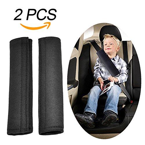 Aodoor guaine per cintura di sicurezza, imbottiture cintura,protezioni comfort per cintura di sicurezza auto per bambini e adulti (2 pezzi)