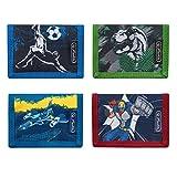 herlitz 50021376 - Portafoglio per bambini Boys Mix, Boys Mix (Multicolore) - 50021376
