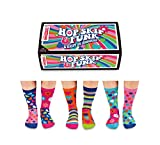 United Oddsocks - Box 6 Oddsocks For Girls - Hop Skip & Funk