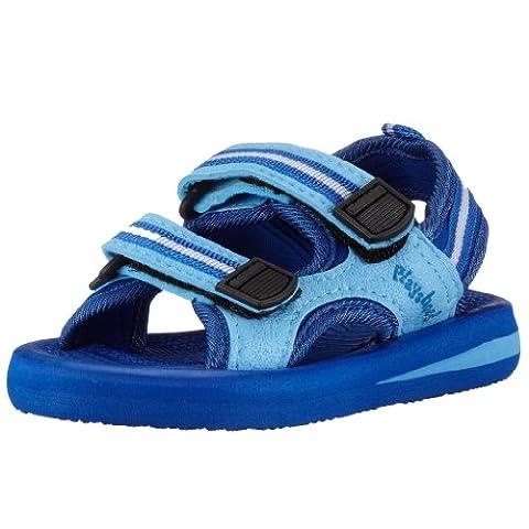 Sandale Enfant - Playshoes 171781, Sandales mixte enfant - Bleu,