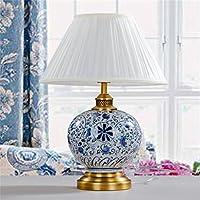 Cinese Retro rame decorativo blu e bianco