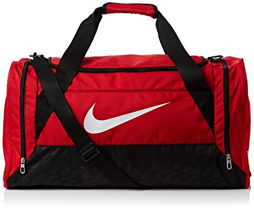 c7263f19b Nike unisex-adult Brasilia 6 Duffel Bag Duffel Bag, Multicolored  (University Red/Black/White), Medium - Buy Online in Oman. | Sports  Products in Oman - See ...