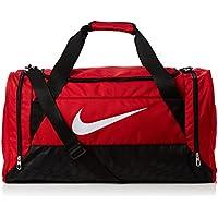 Nike Borsone da calcio Brasilia - Rosso (Rosso Gym Red/Black/White) - 61 x 32 x 30 cm - Red Jogger