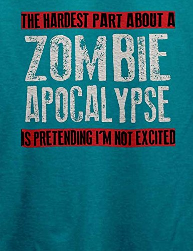Zombie Apocalypse T-Shirt Türkis
