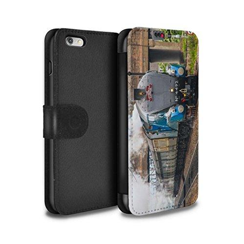 Stuff4 Coque/Etui/Housse Cuir PU Case/Cover pour Apple iPhone 6S+/Plus / Pack 20pcs Design / Locomotive Vapeur Collection Dominion NZ