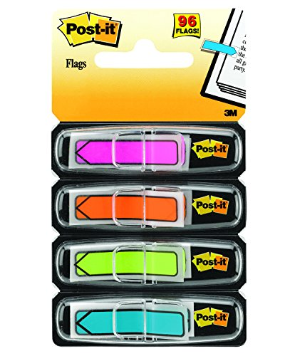 Post-It 684-ARR4 - Index flecha, 12 x 43.1, color multicolor