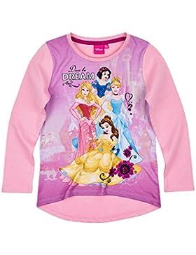 Disney Princess Chicas Camiseta mangas largas - Rosa
