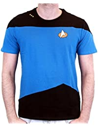 Tshirt homme Star Trek–Scotty Uniform Blue