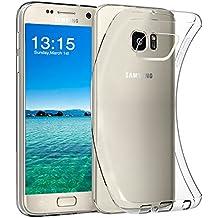 Samsung S7 Hülle, FayTun Galaxy S7 Schutzhülle Case Silikon- Crystal Clear Ultra Dünn Durchsichtige Backcover Handyhülle TPU Case für Samsung Galaxy S7 (Transparent)