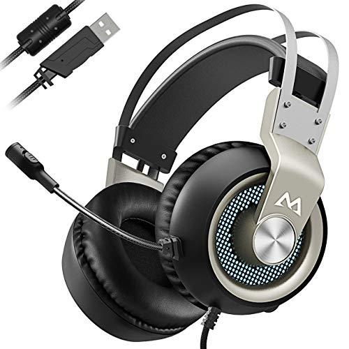 Mpow Gaming Headset, Virtual 7.1...