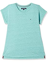 Tommy Hilfiger Girls' Plain Regular Fit T-Shirt